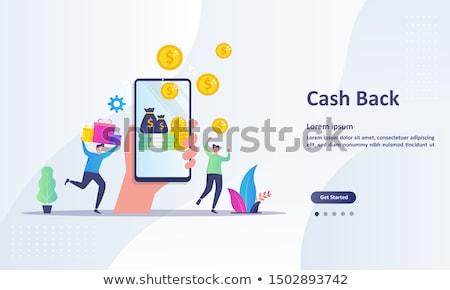 Online kép számítógép laptop technológia felirat Stock fotó © silent47