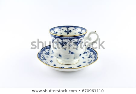 Chinese porcelain cup for tea Stock photo © pzaxe