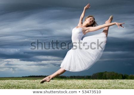 bale · adımlar · genç · kafkas · balerin · kız - stok fotoğraf © Forgiss