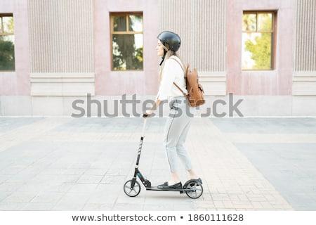 市 シルエット ビジネスの方々  旅行 作業 日の出 ストックフォト © unikpix