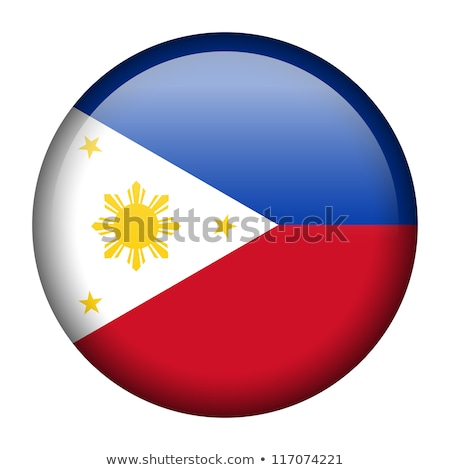 Knop Filippijnen zon kaart land kaarten Stockfoto © Ustofre9
