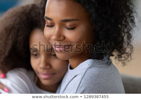 Girl with parents. Stock photo © iofoto