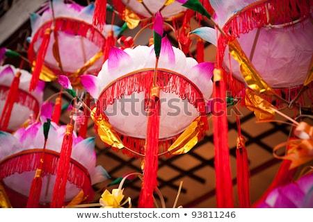 Kolorowy Chiny rynku tradycyjny asian chińczyk Zdjęcia stock © travelphotography