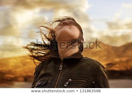 женщину руин моде Сток-фото © chesterf