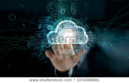 cloud security stock photo © anatolym