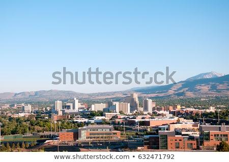 Невада · Skyline · городского · зданий · отель - Сток-фото © sframe