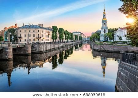 St. Nicholas Cathedral in Saint-Petersburg, Russia. Stock photo © Pilgrimego