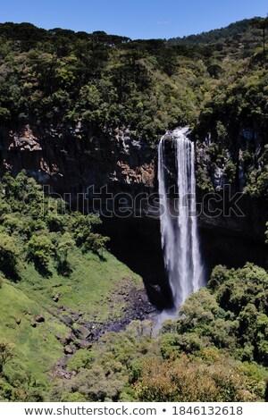 ручей · водопада · ЮАР · пейзаж · оранжевый - Сток-фото © compuinfoto