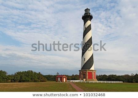 farol · ilha · bancos · Carolina · do · Norte · céu - foto stock © alex_grichenko