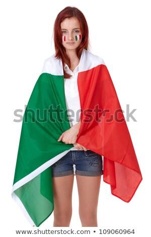 Sad Italy soccer fan Stock photo © orensila