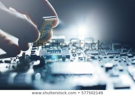 manutenção · eletrônico · reparar · dispositivos · informática · metal - foto stock © oleksandro