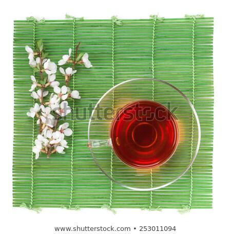 箸 竹 孤立した 白 食品 キッチン ストックフォト © karandaev