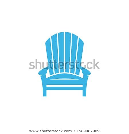 Adirondack Chair Stock photo © brittenham