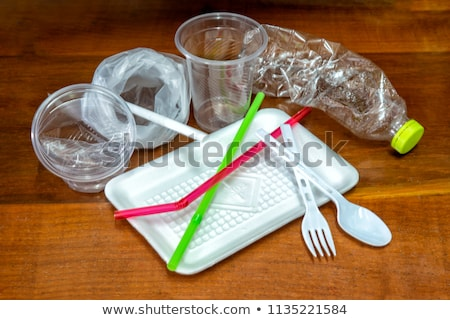 biodegradable waste in a biodegradable bag Stock photo © nito
