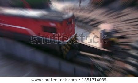 Onderhoud crew metaal versnellingen zwarte industriële Stockfoto © tashatuvango