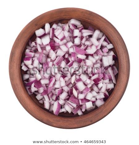 chopped onion stock photo © elly_l