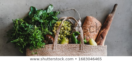 Healthy groceries. stock photo © lithian