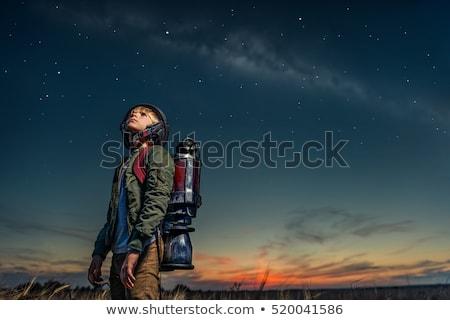 飛行 · ソーサー · 実例 · 船 · UFOの · 奇妙な - ストックフォト © lightsource