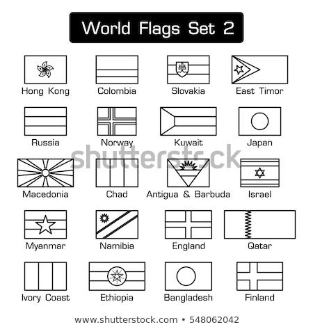флаг Мир флагами коллекция аннотация фон Сток-фото © dicogm