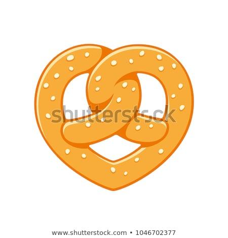 pretzel heart Stock photo © nito