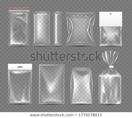 Diferente temperos pacote isolado branco cozinha Foto stock © gavran333