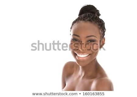 красивая · женщина · позируют · ночному · городу · лице · город · Sexy - Сток-фото © dash