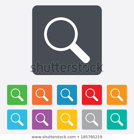zoom out yellow vector icon button stock photo © rizwanali3d