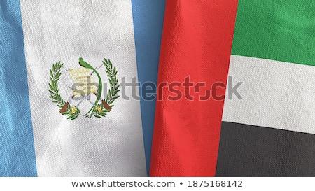 Birleşik Arap Emirlikleri Guatemala bayraklar bilmece yalıtılmış beyaz Stok fotoğraf © Istanbul2009