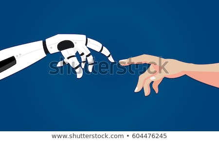 robot design flat stock photo © jossdiim