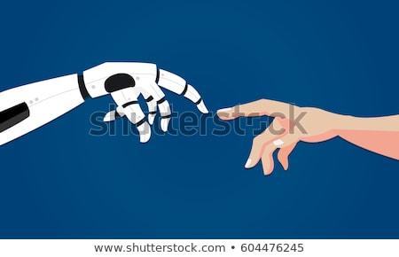 Robot ontwerp technologie wetenschap speelgoed machine Stockfoto © jossdiim