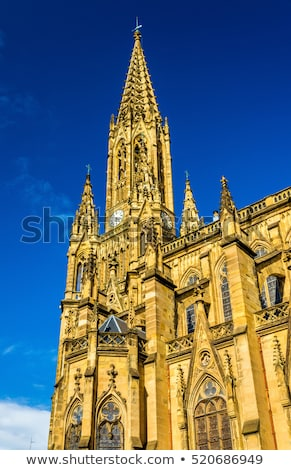 Buen Pastor Cathedral in San Sebastian. Spain Stock photo © Photooiasson