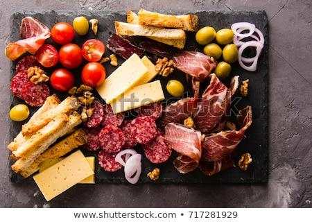 Various Spanish Snacks Stock photo © zhekos