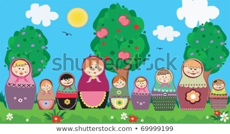 Russian doll in the Mosquee Stock photo © adrenalina