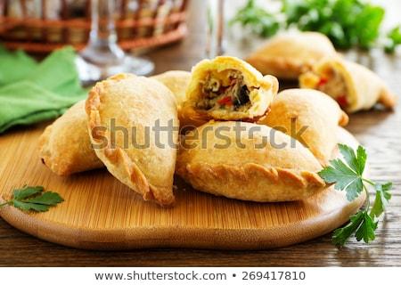 meat pie,empanadas Stock photo © M-studio