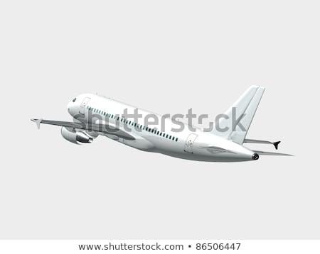 A rear plane Stock photo © bluering