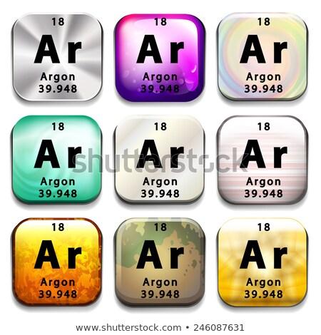 周期表 ボタン 教育 白 化学 ストックフォト © bluering