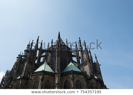 East end of the Saint Vitus Cathedral. Prague, Czech Republic Stock photo © Kirill_M