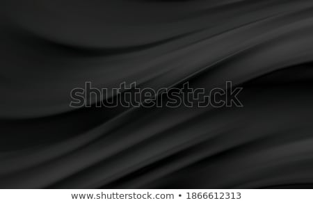 Abstract smooth black waves background Stock photo © saicle