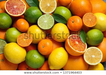 Variëteit citrus vruchten oranje bloed sinaasappelen Stockfoto © StephanieFrey