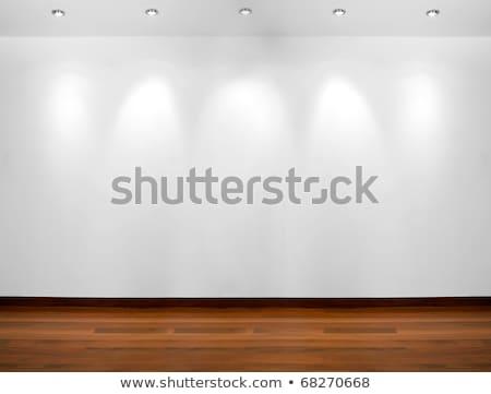 スポット ライト 空っぽ 白 壁 コピースペース ストックフォト © stevanovicigor
