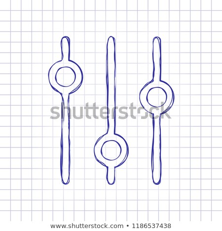 doodle volume buttons stock photo © pakete