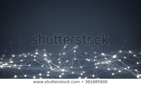 Bilgisayar oluşturulan soyut gibi teknoloji şablonları Stok fotoğraf © ssuaphoto