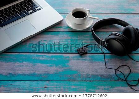 Top Player on Laptop in Modern Workplace Background. Stock photo © tashatuvango