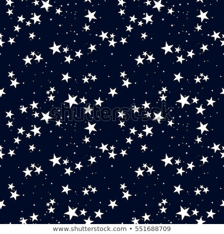 seamless stars pattern in blue stock photo © olena