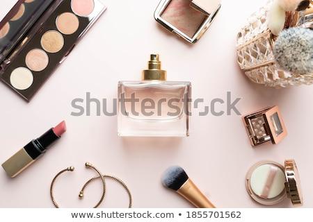 Sminkmester jelentkezik bőrpír szelektív fókusz izolált fehér Stock fotó © LightFieldStudios