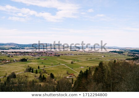 Alpine landscape in Allgäu Stock photo © dirkr