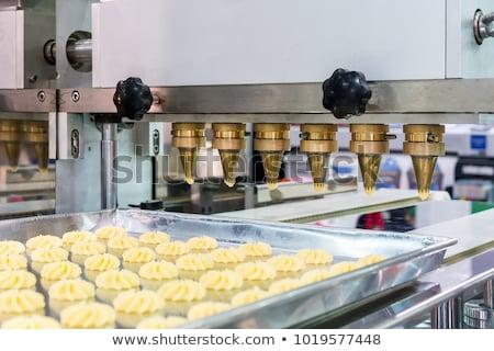 промышленных хлеб хлебобулочные линия процесс Сток-фото © georgemuresan