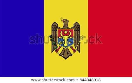 Moldavië vlag witte ontwerp teken reizen Stockfoto © butenkow