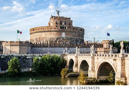 ángeles · ángel · Roma · Italia · azul · viaje - foto stock © joyr