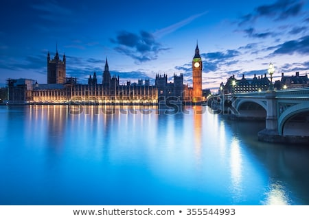 Parliament at sunset Stock photo © Givaga